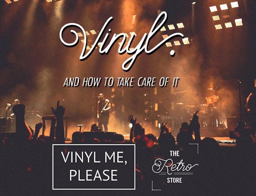 Tips For Vinyl Care Vinyl Me Please