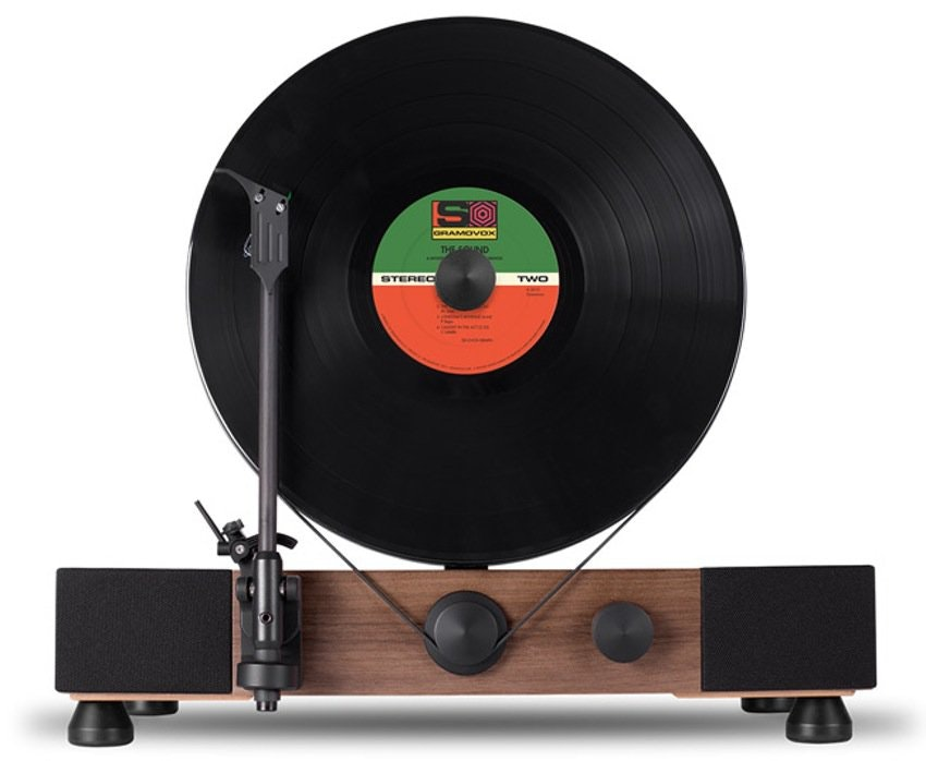 Gramovox Floating vertical Turntable
