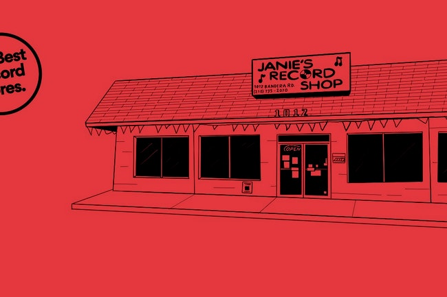 Janie's Record Shop Is The Best Record Store In Texas — Vinyl Me, Please