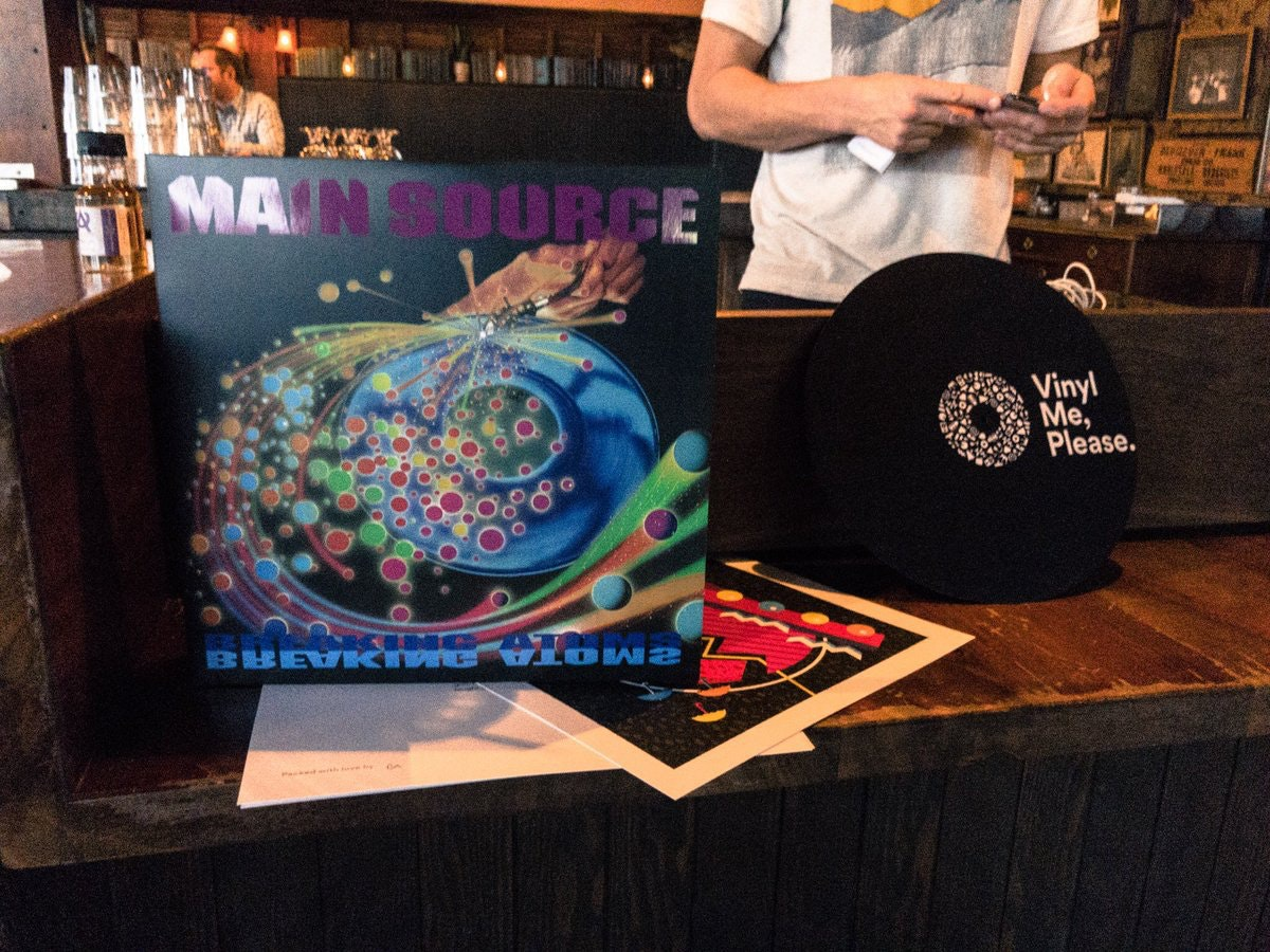 The Spins 12th Edition: Featuring Main Source 'Breaking Atoms'