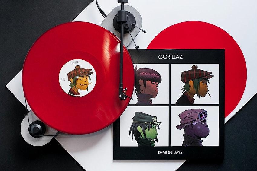 Gorillaz Demon Days Vinyl Me Please