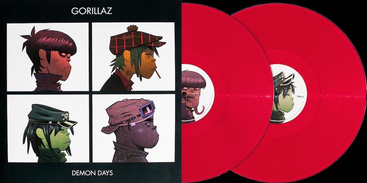 gorillaz demon days � vinyl me please