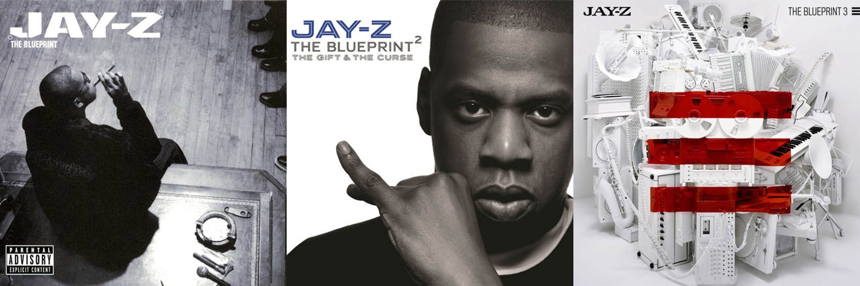 The 10 best album trilogies to own on vinyl vinyl me please jay z the blueprint 2001 the blueprint 2 the gift the curse 2002 and the blueprint 3 2009 malvernweather Choice Image