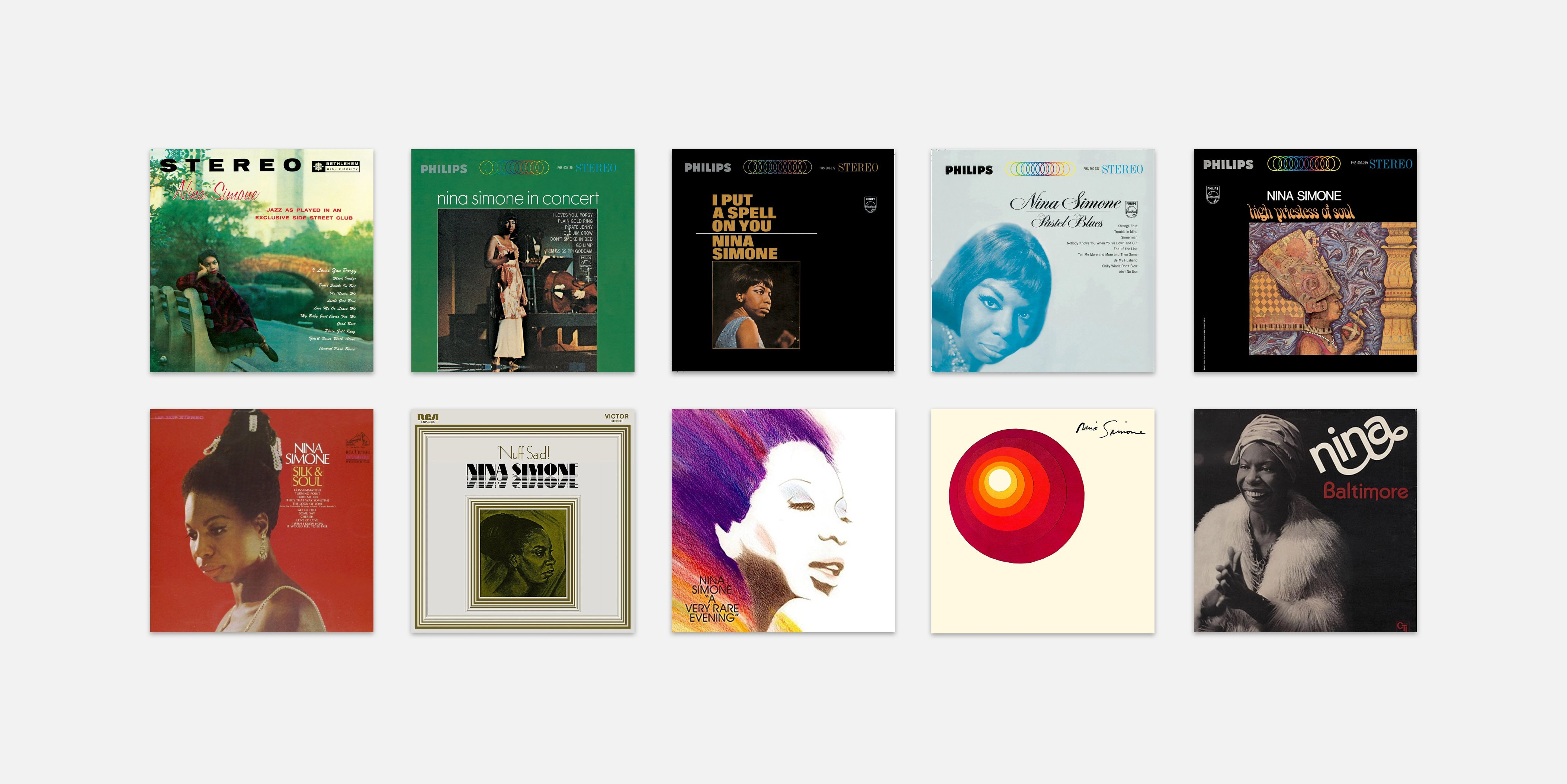 Nina Simone Top 10 Albums Tow Own