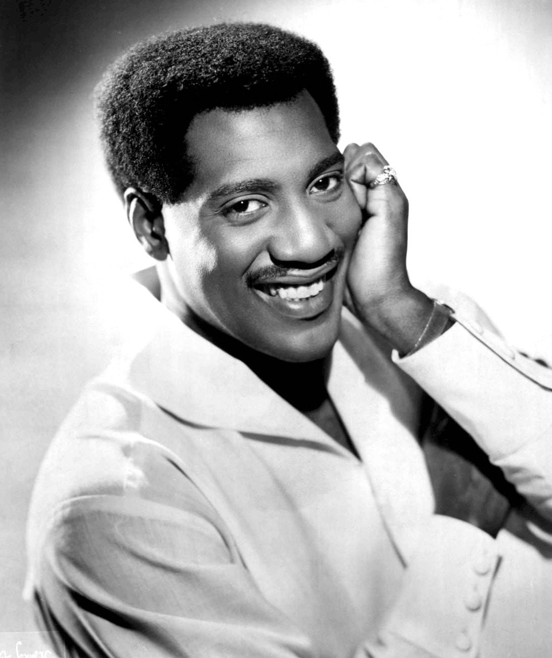A promo shot of Otis Redding.