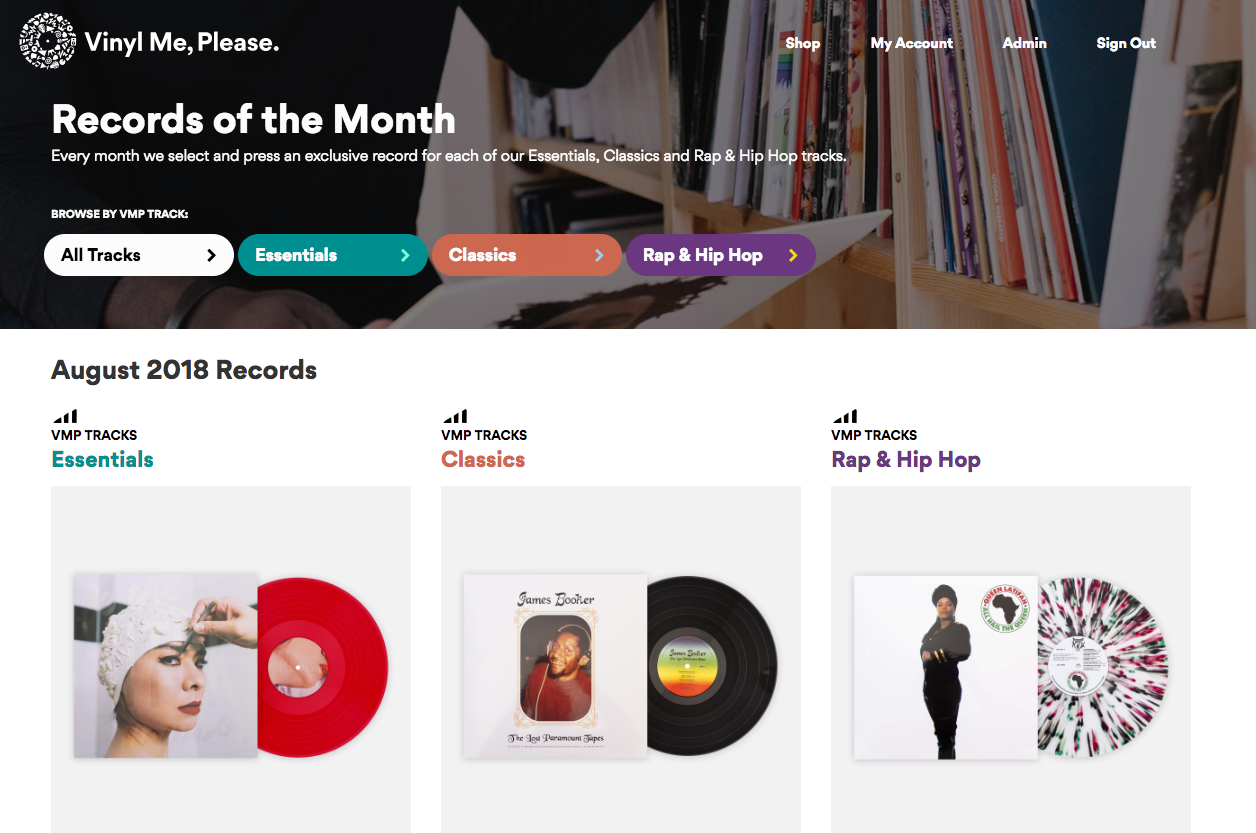You can choose any genre Track you want for $29 a month, and $23 to add an additional Track.