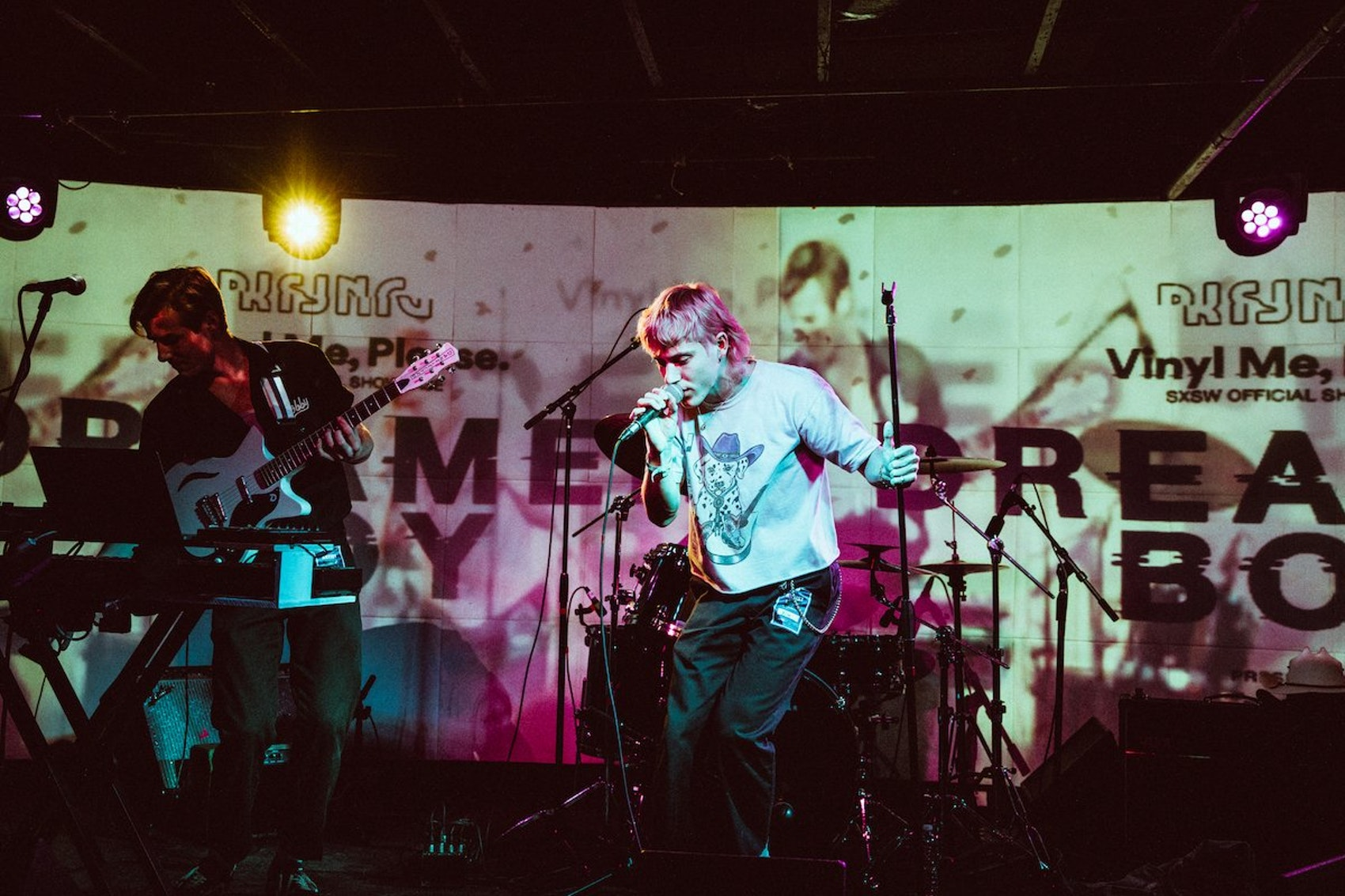 Dreamer Boy playing at the VMP Rising SXSW Showcase last month.