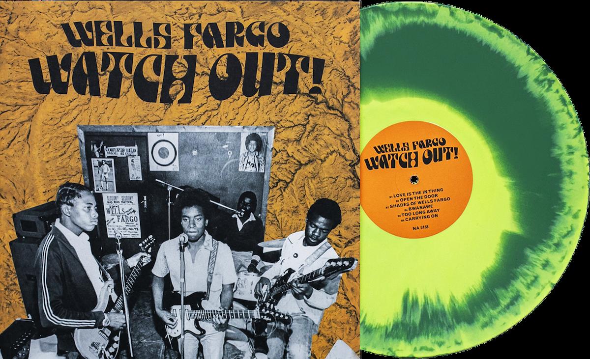 Wells Fargo Watch Out Vinyl Me Please
