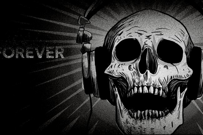 Deaf Forever Finished Header