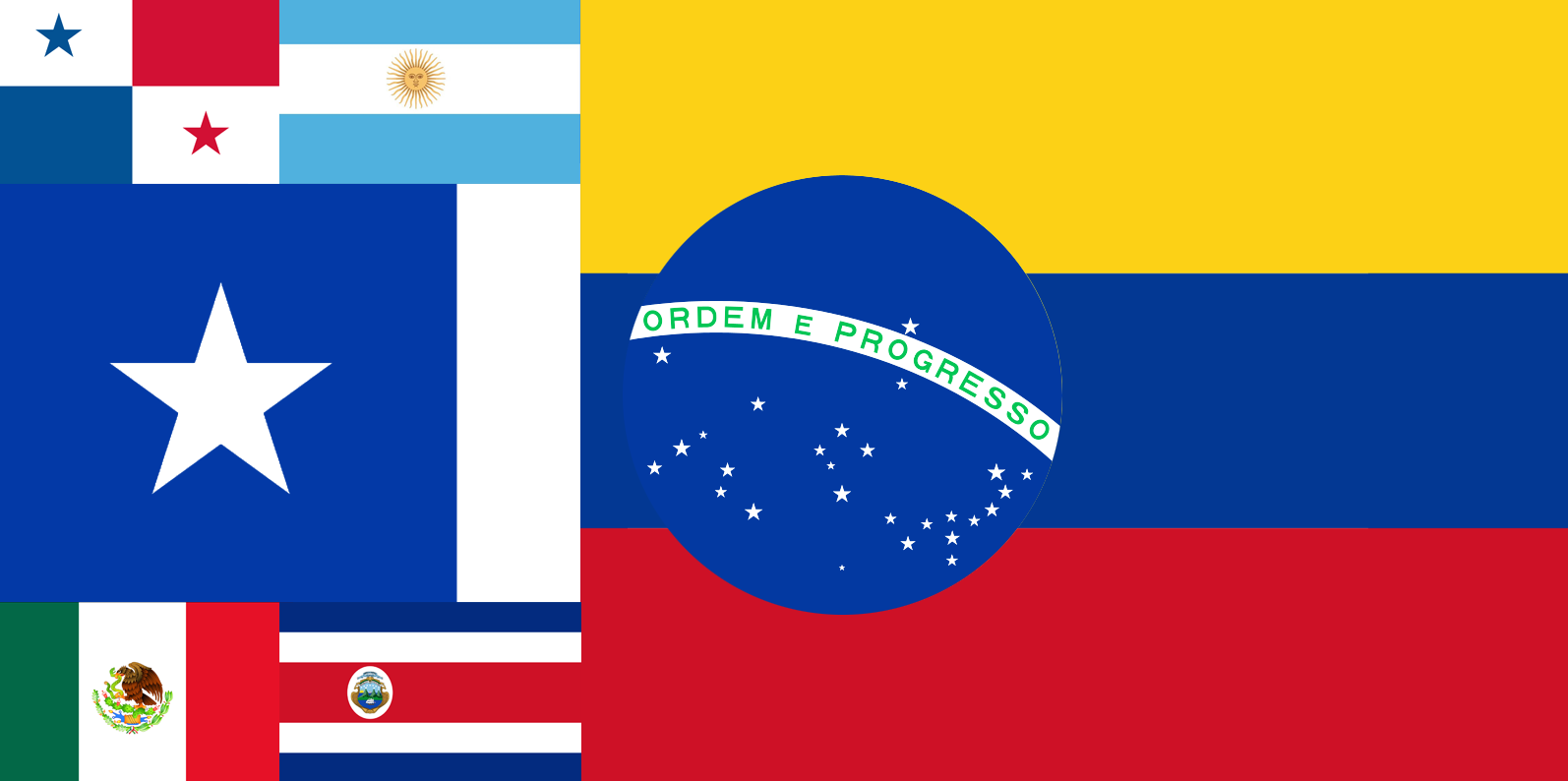 Latin Flags
