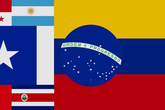 Latin Flags
