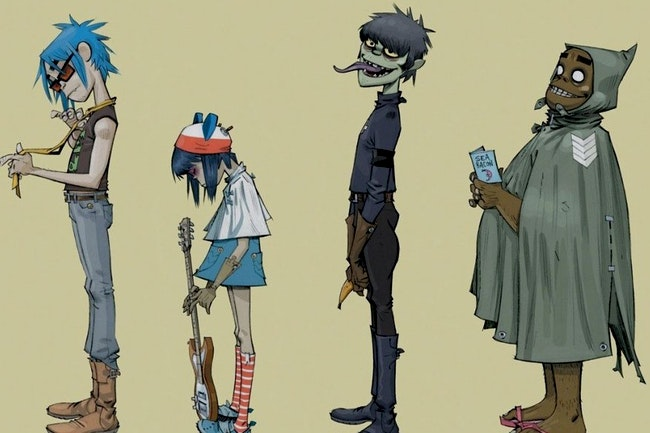 We Try To Tell The Story Of The Cartoons In Gorillaz — Vinyl Me, Please