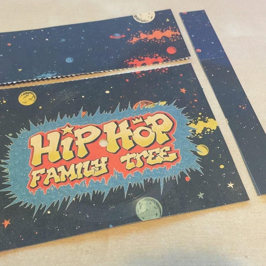 Ed Piskor's hip-hop flexi disc.