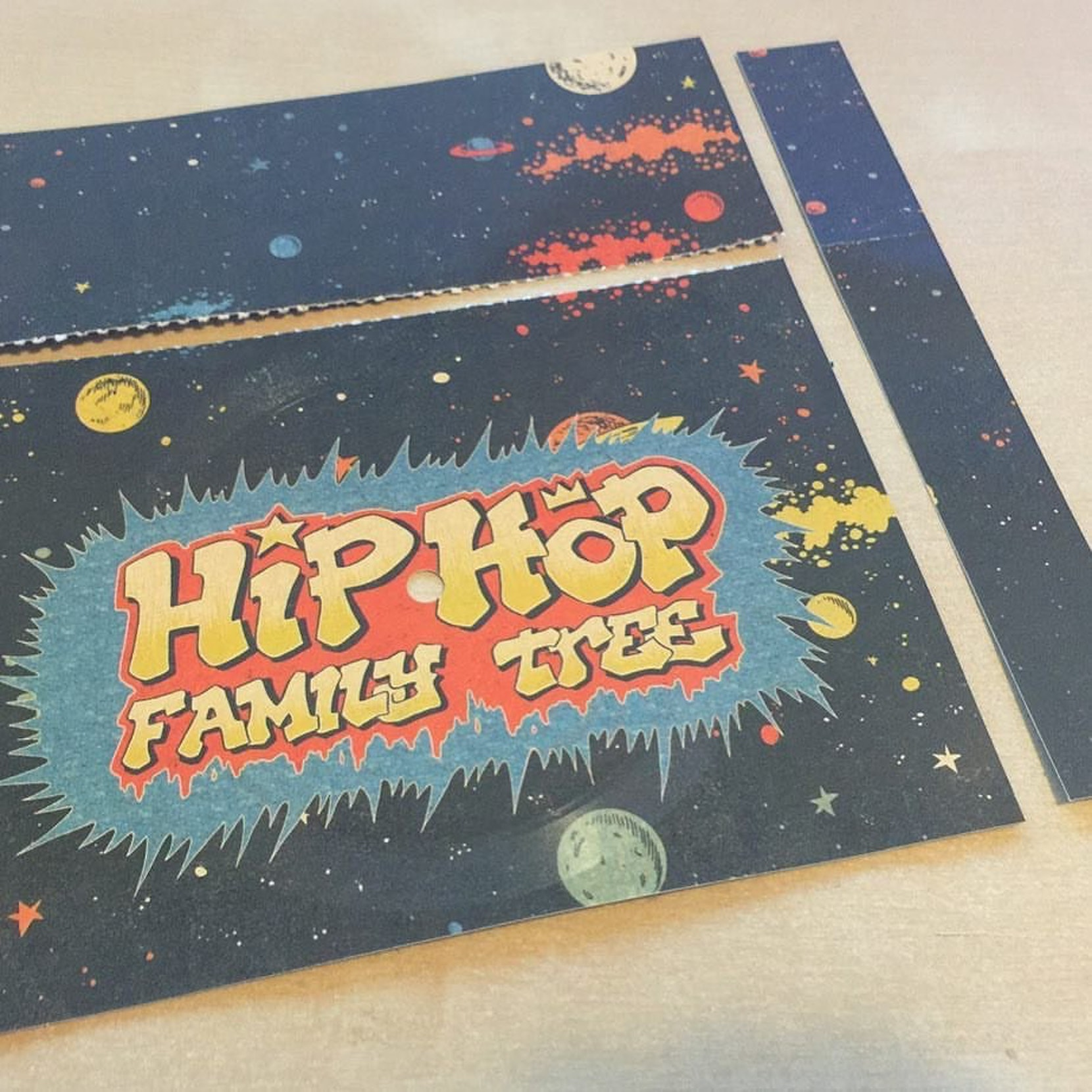 Ed Piskor's hip-hop flexi disc.