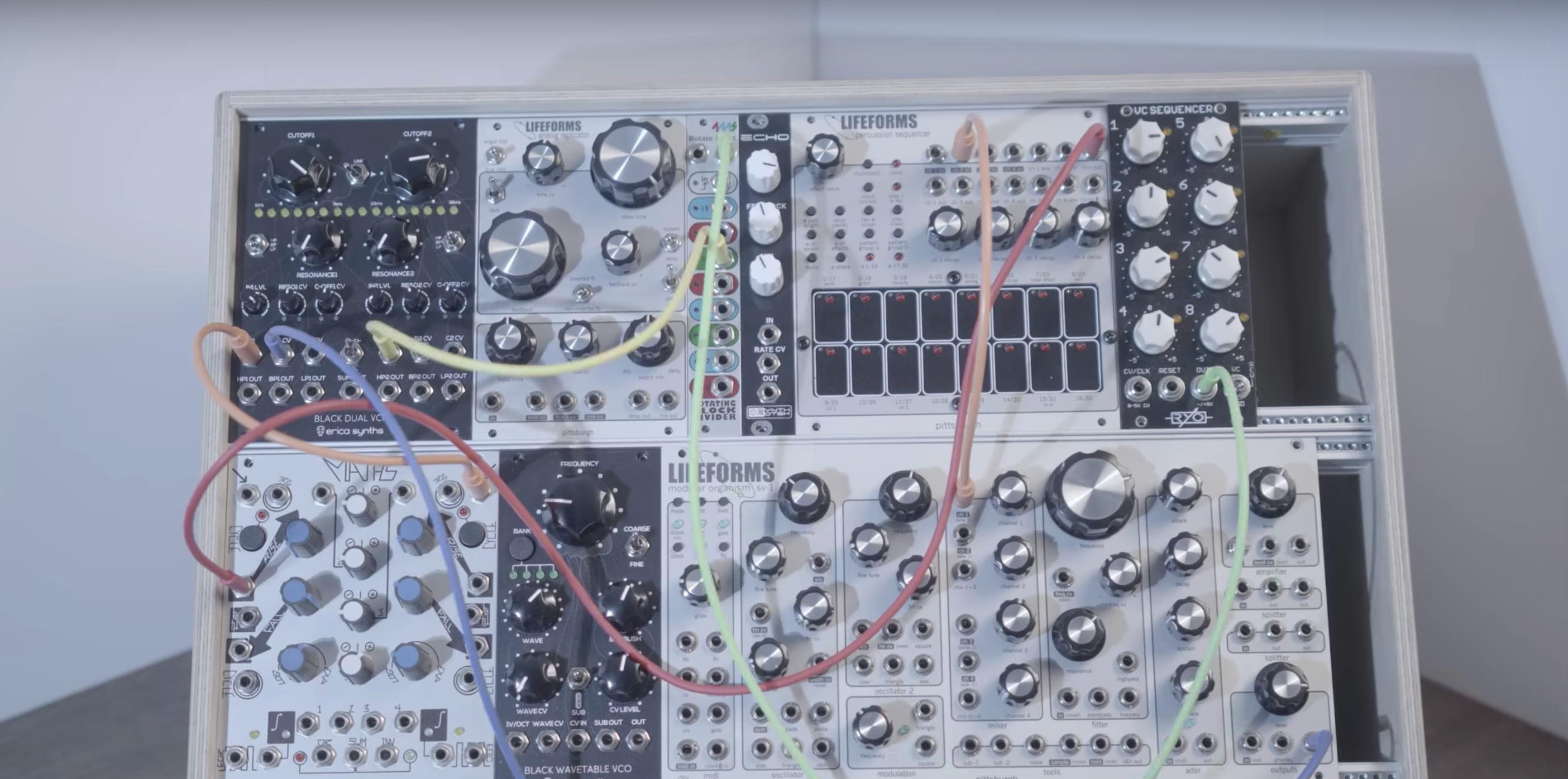 modular synth header