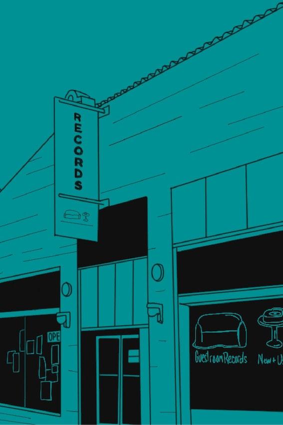 oklahoma record store header