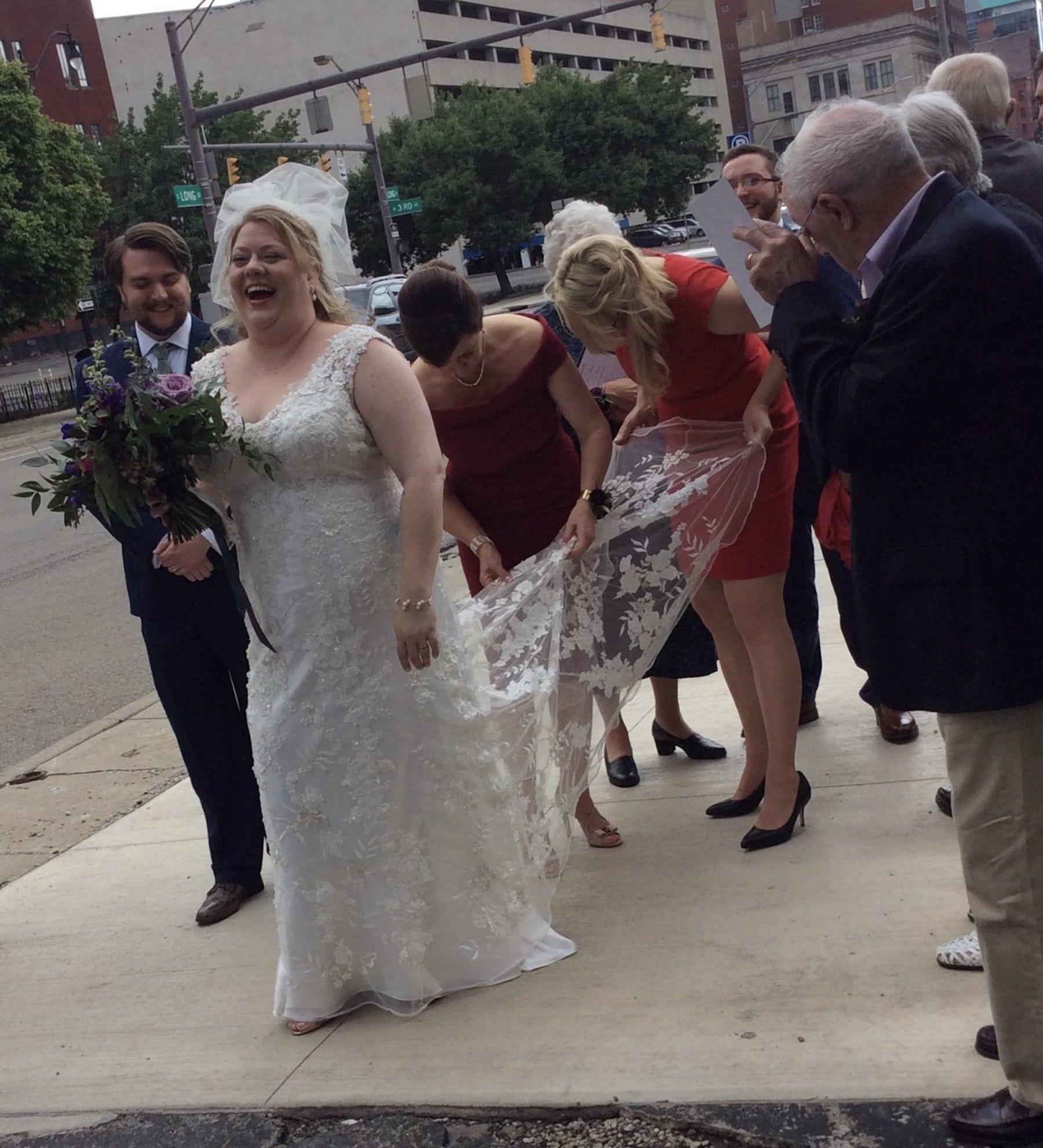 Photos of the wedding.