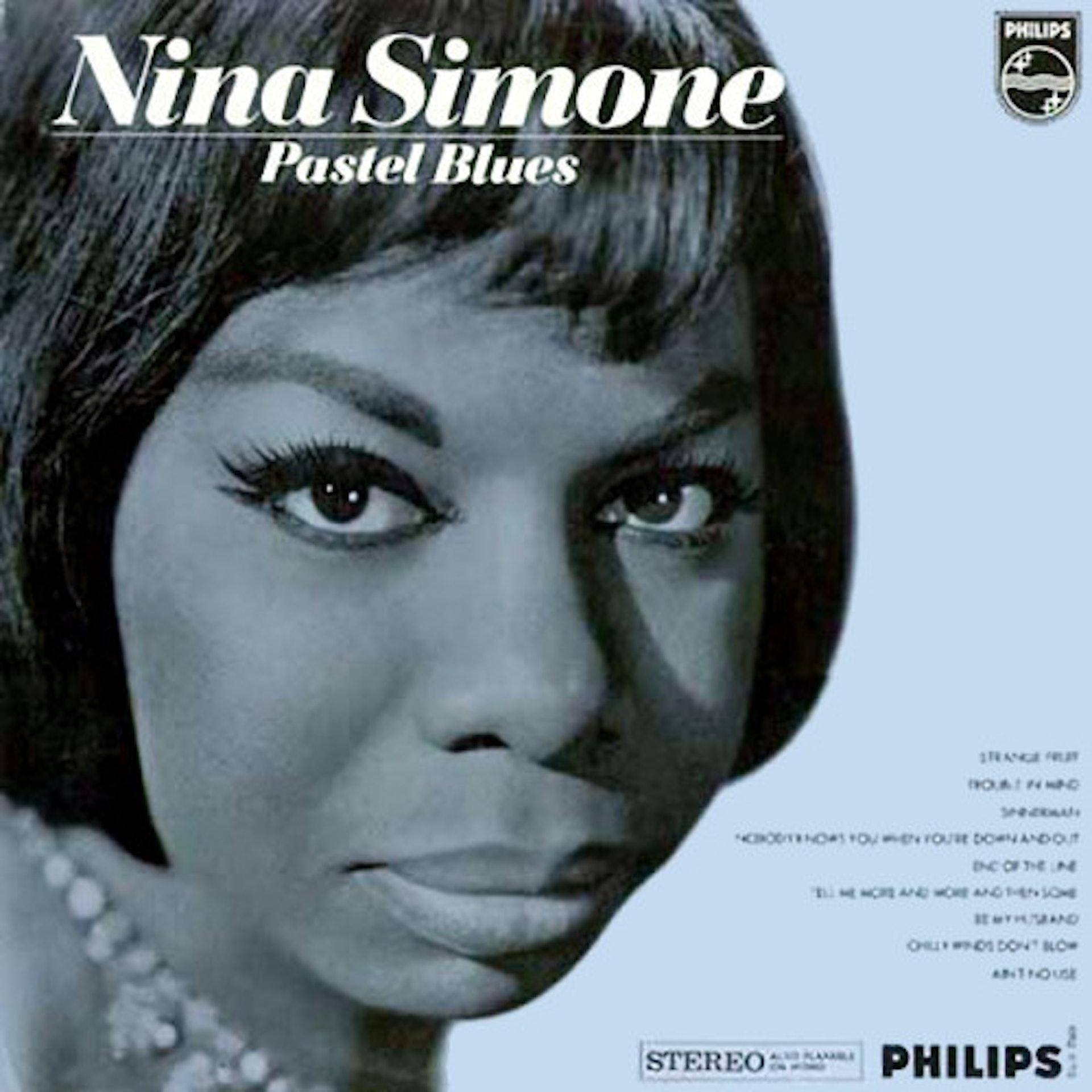 Nina Simone Pastel Blues